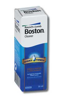 Contact lenses|Solutions & Cleaners Boston Advance Cleaner