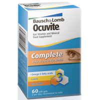 Health & Wellbeing|Contact lenses Ocuvite Complete