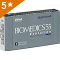 Biomedics 55 Evolution contactlenzen
